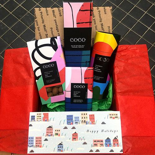 Chocolate Lovers Holiday Gift Box