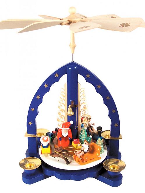 German Santa & Christmas Toys Pyramid