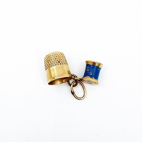 Thimble and String Charm