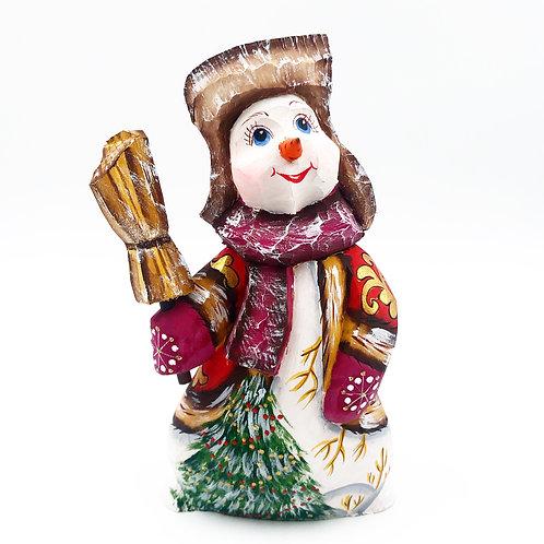 Russian Made Snowman