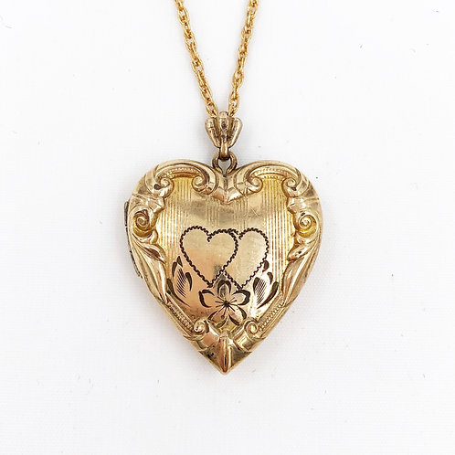 WWII Heart Locket