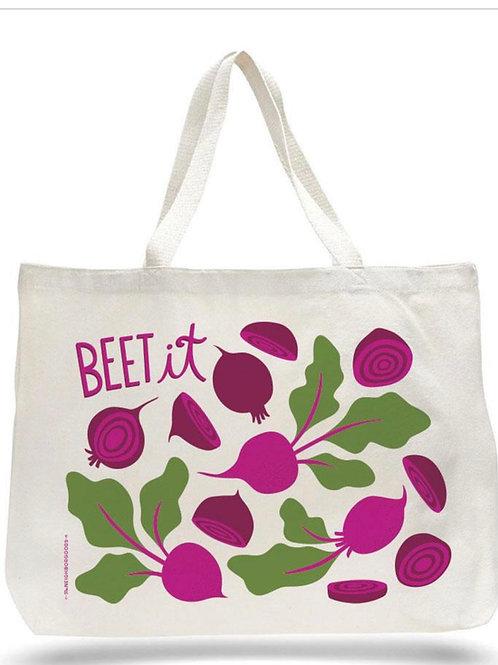Beet It Tote Bag