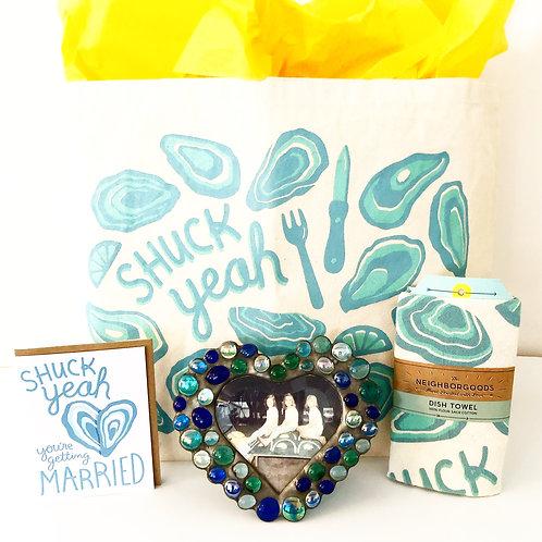 Shuck Yeah You're Getting Married Gift Set