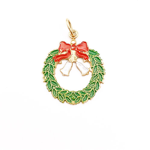 Christmas Wreath Charm