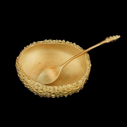 Sea Urchin Salt Dish with Spoon