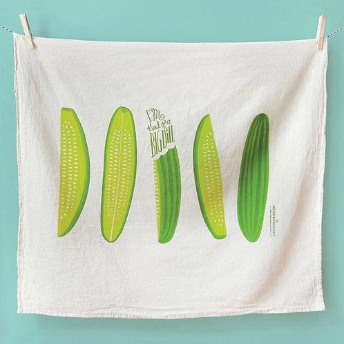 Big Dill Pickle Dish Towel