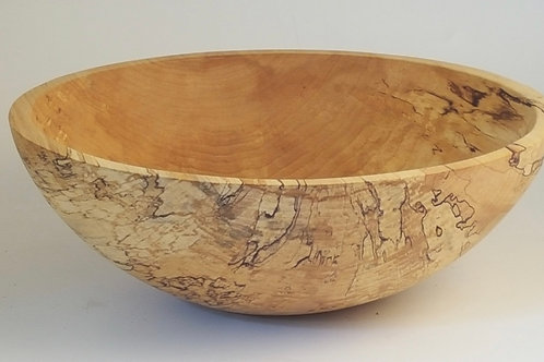"12"" Spalted Ambrosia Maple Bowl"