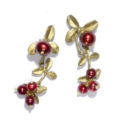 Cranberry Earring