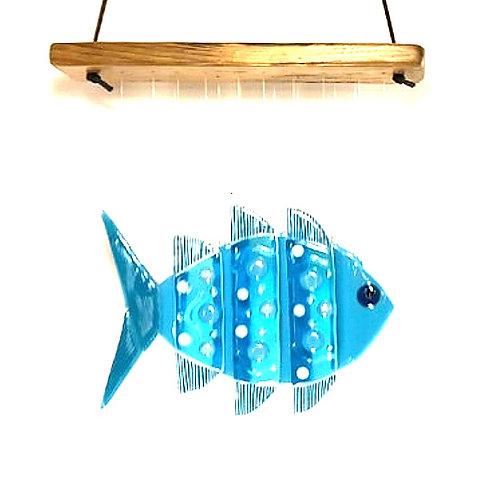 Aqua Fish Wind Chime