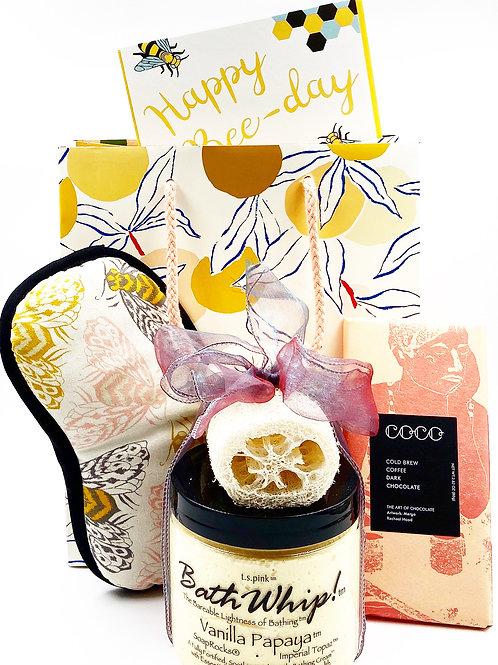 Happy Bee-Day Gift Set