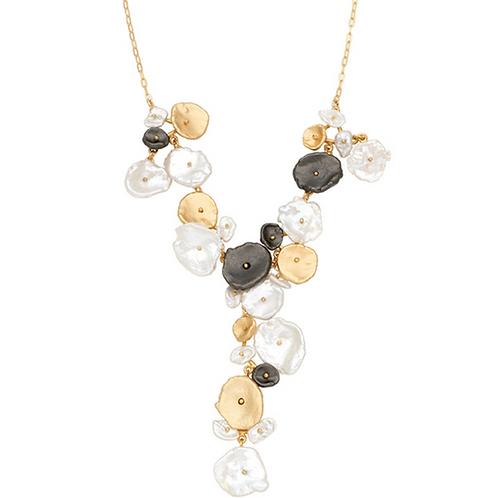 River Pebble Necklace