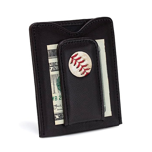 New York Yankees Game Used Baseball Money Clip