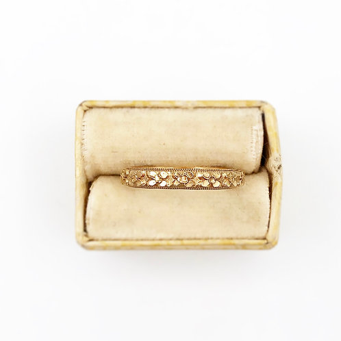 Gold EngravedBand