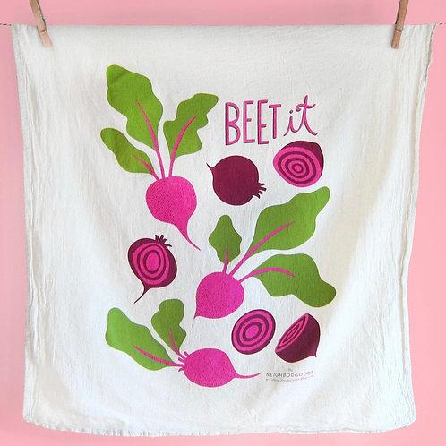 Beet It Dish Towel