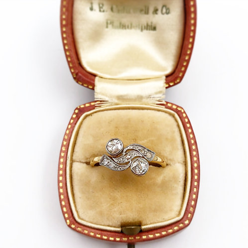 Toi & Moi (You & Me) Diamond Ring