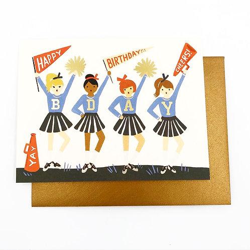 Happy Birthday Cheerleaders
