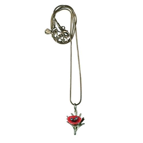 Red Poppy Pendant