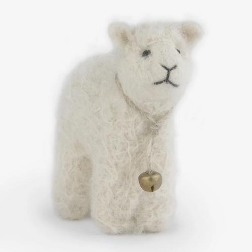 Needle Felt Lamb Ornament