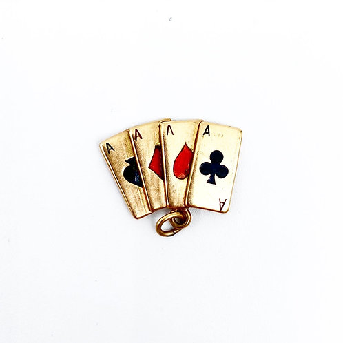 Deck of Cards Charm