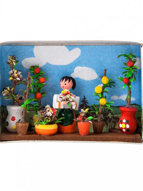 Flower Girl Matchbox