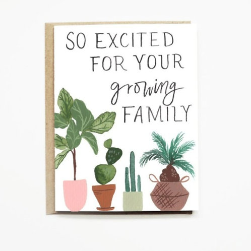 So Excited For Your Growing Family