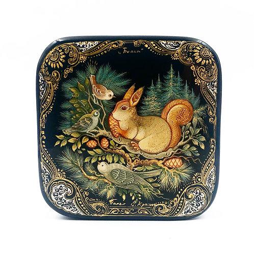 Russian Squirrel Lacquer Box