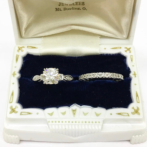 Timeless Art Deco Engagement Ring