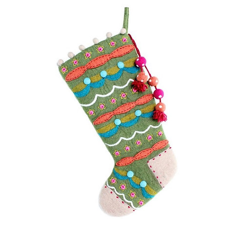 Evergreen Stocking