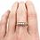 Thumbnail: Antique 5 Stone Diamond Ring