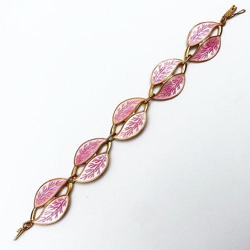 Pink Enamel Bracelet