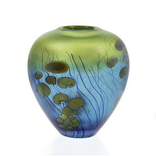 Lily Pad Ginger Pot Vase
