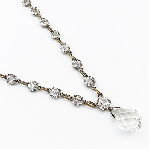 1930's Crystal Necklace