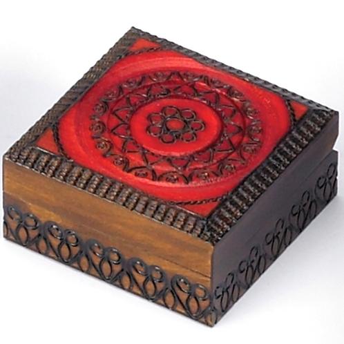 Circle Pattern Box