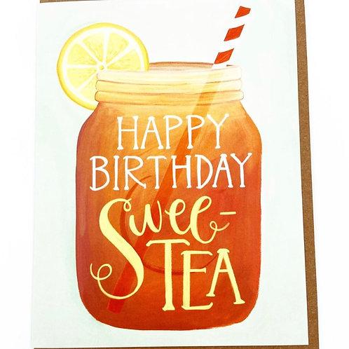 Happy Birthday Swee-Tea