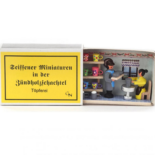 German Potter Matchbox