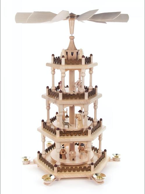 4 Tier Nativity Pyramid
