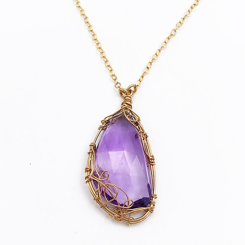 Artisan Made Amethyst Necklace