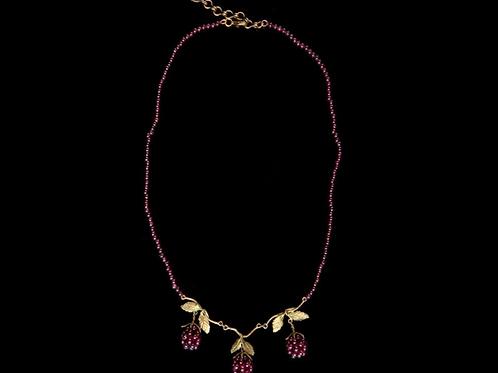 Raspberry Necklace