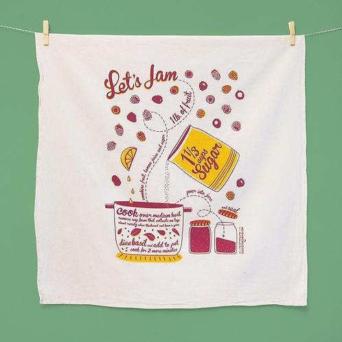 Let's Jam Dish Towel