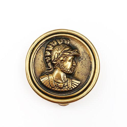 Brass Pill Box