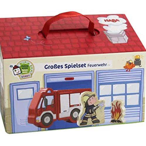 GroBes Spielset Feuerwehr Toy