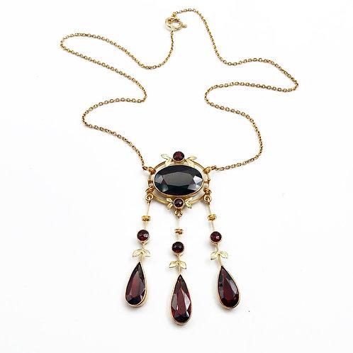 Gorgeous Garnet Necklace