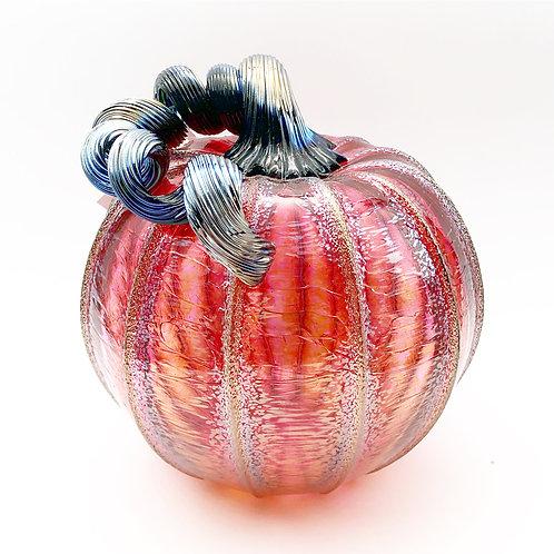 Medium Glass Pumpkin