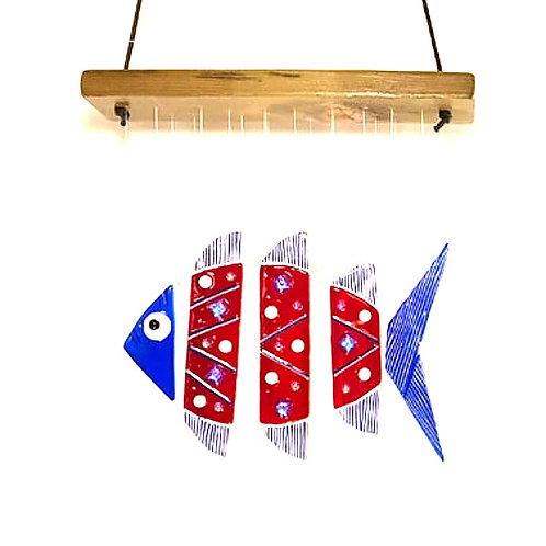 Artisan Made Glass Wind Chime
