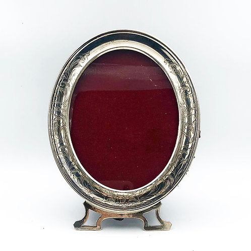 Sterling Oval Picture Frame