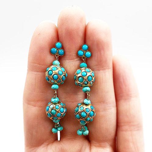 Incredible Turquoise Earrings