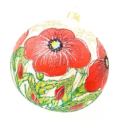 Limited Edition Poppy Ornament