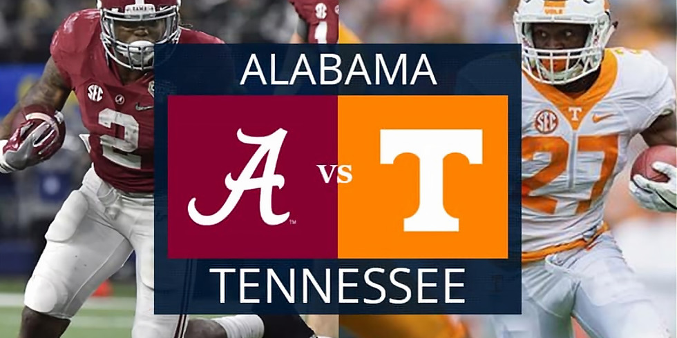 Homecoming Tailgate - Alabama vs. Tennessee