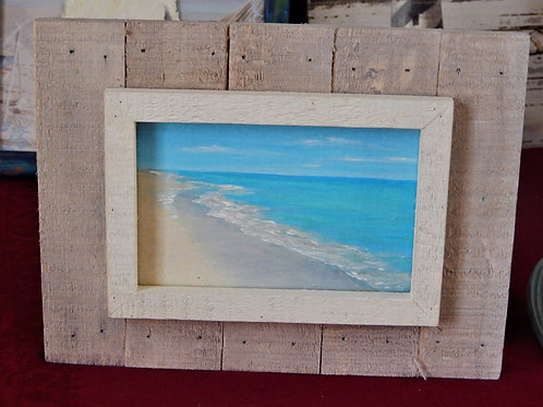 """Shoreline"" 4 x 6 Oil on Canvas - Original Art - Paris Milliken"