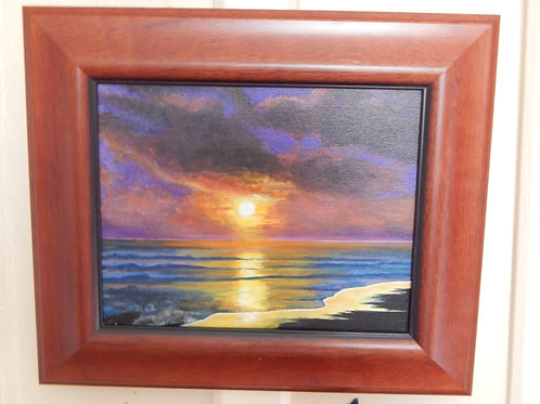 Sunset - Original Art - Karen French